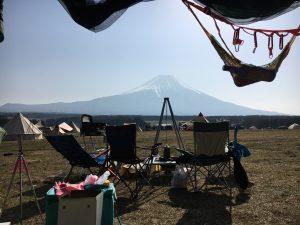 ふもとっぱらキャンプ場の様子