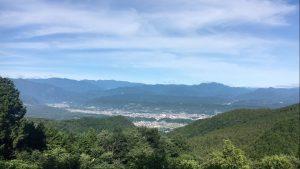 グリーンビュー丸山からの絶景