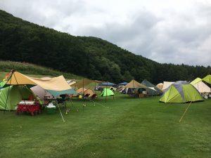 ニューアコースティックキャンプのオートサイト