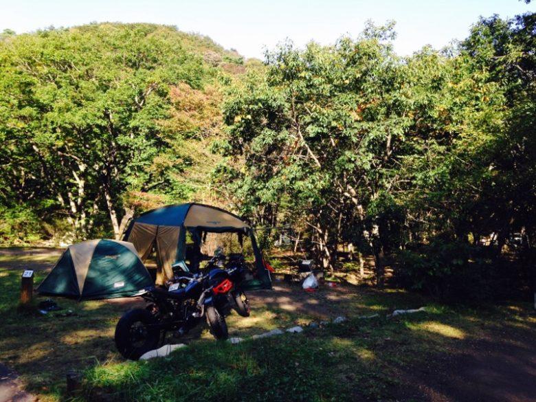 榛名湖オートキャンプ場の様子