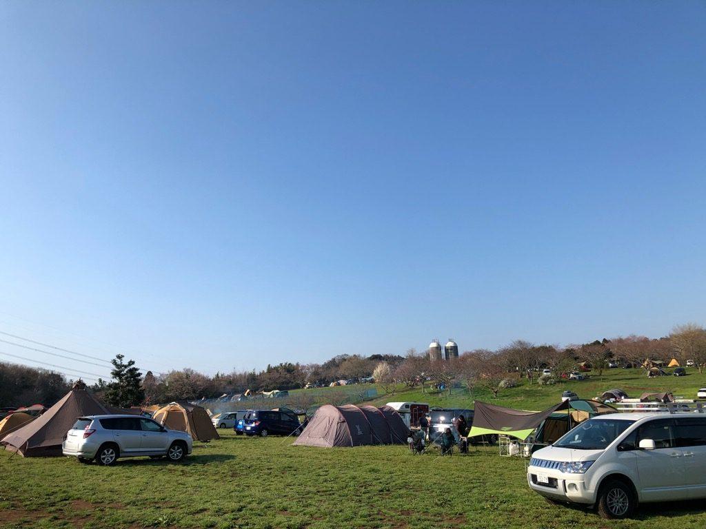 オートキャンプ場のイメージ①