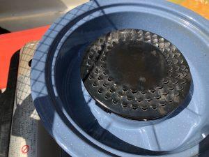 卓上焼肉コンロの水を入れる部分