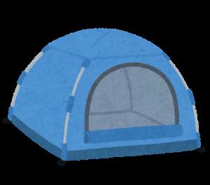 吊り下げ式テント