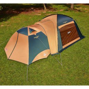 テントとタープの接続