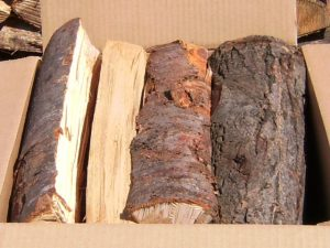 広葉樹の薪