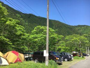 佐野川キャンプ場②