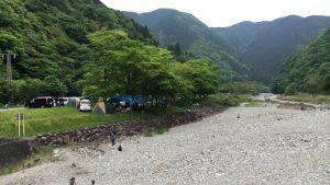 佐野川キャンプ場③