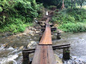 リワイルドグランピングヒルの橋