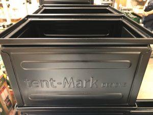 テンマクデザインのコンテナのブラック