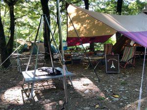 キャンプサイトの様子②