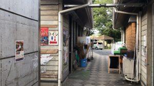 道の駅かつらのキャンプ場のトイレ
