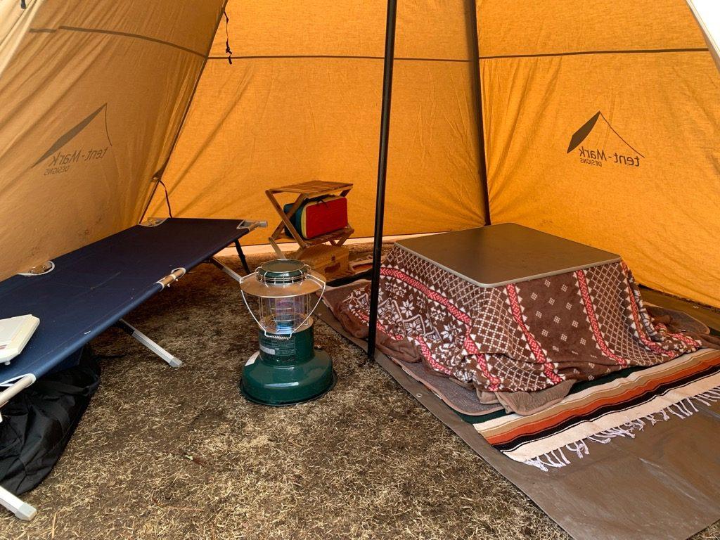 サーカスtcでこたつキャンプ