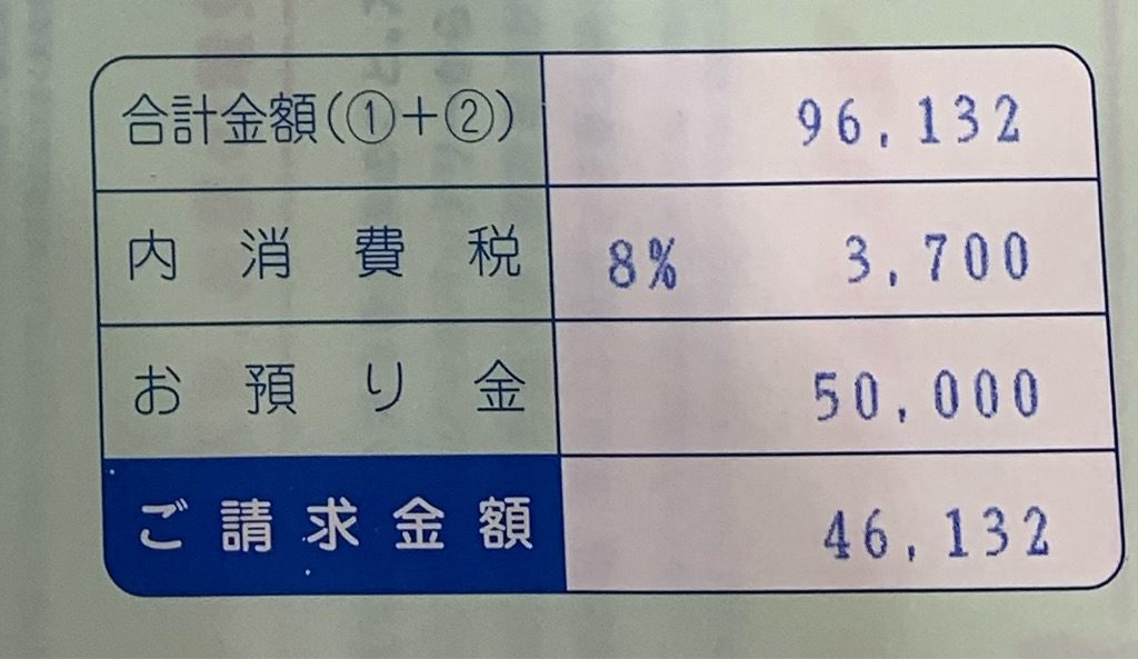 アウトランダーPHEVの車検費用