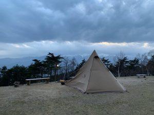 陣馬形山キャンプ場①