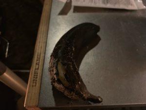 焦げたバナナ