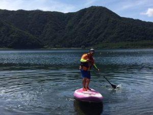 バラギ湖のアクティビティ