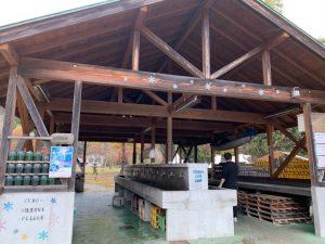 湯島オートキャンプ場の炊事場