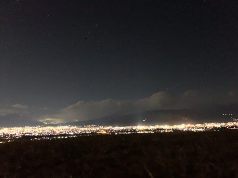 NightCapカメラの夜景の写真