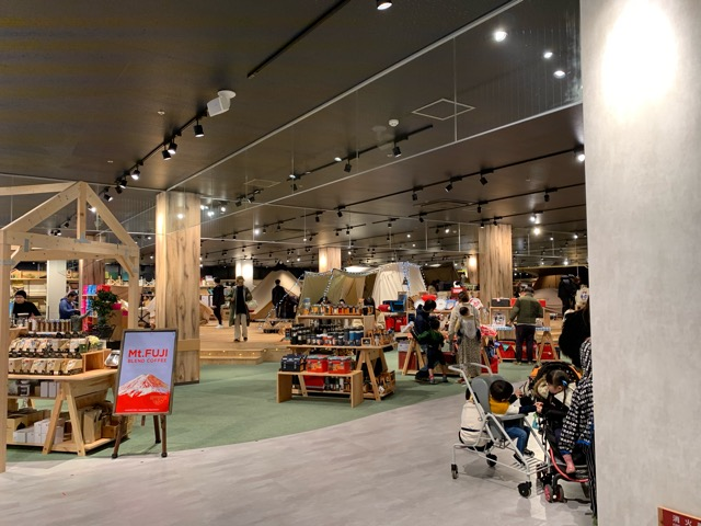 Alpen Outdoorsの展示テント