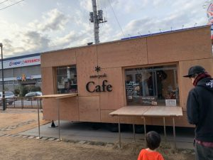 snowpeak カフェ
