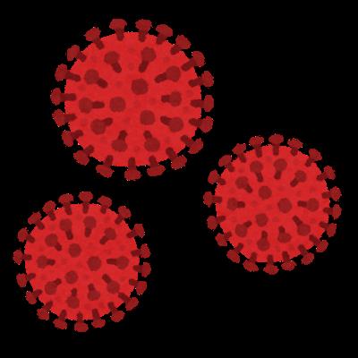 ウイルスのイラスト