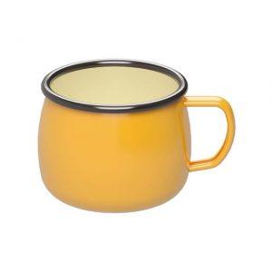 キャプテンスタッグのホーローマグカップ(黄色)