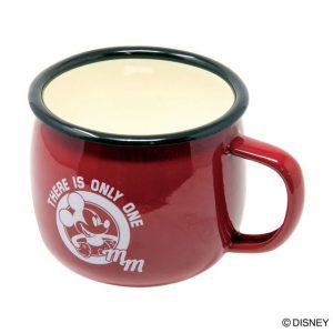 ミッキーのホーローマグカップ