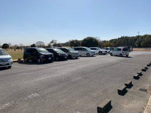 野田市スポーツ公園の駐車場