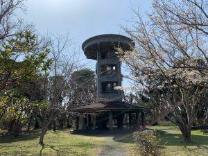 大房岬の展望塔