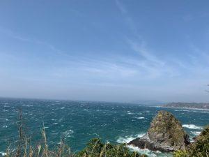 大房岬からの海