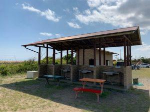 第二キャンプ場の炊事場