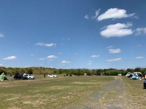 九十九里シーサイドオートキャンプ場 第二キャンプ場