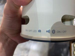 Bluetooth接続ボタン
