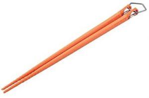 カラ箸 オレンジ