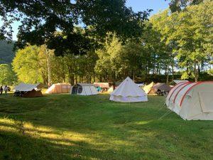 ニューアコ2021のキャンプの様子