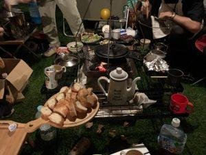 ニューアコのキャンプ飯